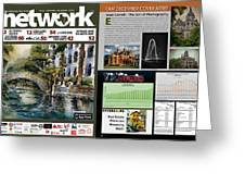 Network Magazine Feature Greeting Card