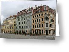 Neumarkt - Dresden - Germany Greeting Card