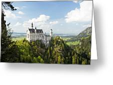 Neuschwanstein Castle Greeting Card by Francesco Emanuele Carucci