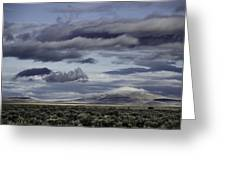 Nevada Blue Skies Greeting Card