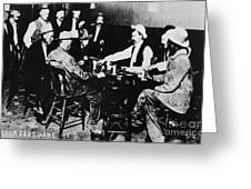 Nevada: Card Game, C1890 Greeting Card