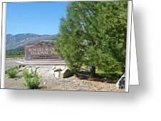 Nevada Landmark Greeting Card