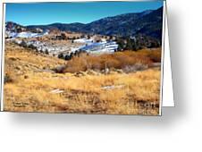 Nevada Landscape Greeting Card