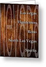 Nevada Greeting Card