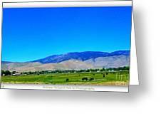 Nevada Range Greeting Card