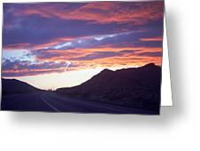 Nevada Skies Greeting Card