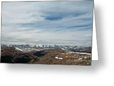Never Summer Mountains From Rock Cut In Moraine Park Rocky Mountain National Park Greeting Card