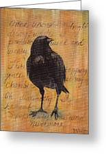Nevermore I  Greeting Card