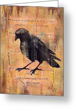 Nevermore II Greeting Card