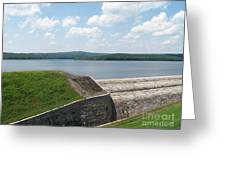 Neversink Reservoir Dam Greeting Card