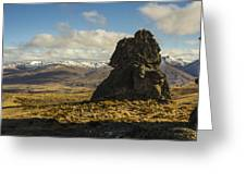 Nevis Rock Greeting Card