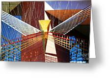 New Age Performing Arts Center Greeting Card