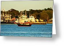 New Bedford Massachusetts 2 Greeting Card