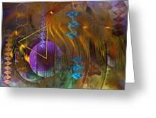New Beginning - Square Version Greeting Card