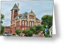 New Bern City Hall Greeting Card