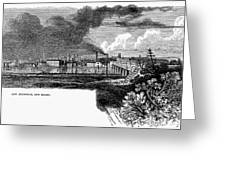 New Brunswick, 1876 Greeting Card