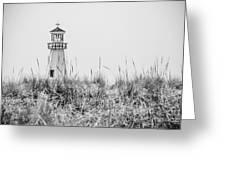 New Buffalo Lighthouse In Southwestern Michigan Greeting Card