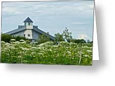 New Church In Ninilchik-ak  Greeting Card
