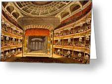 New Covent Garden Theatre Greeting Card