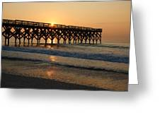 New Crystal Pier Greeting Card