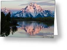 New Day Of Peace In Teton National Park Greeting Card
