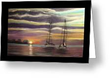 New Day On The Bay Greeting Card