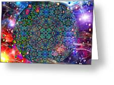 New Earth Rising Greeting Card