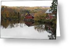 New England Autumn Two Greeting Card