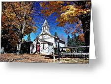 New England In New Jersey Greeting Card