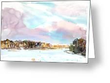 New England Landscape No.216 Greeting Card by Sumiyo Toribe