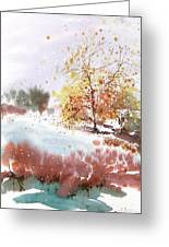 New England Landscape No.219 Greeting Card by Sumiyo Toribe