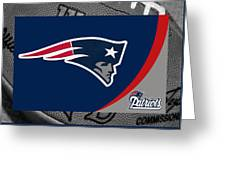 New England Patriots Greeting Card by Joe Hamilton