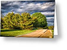 New England Spring 52 Greeting Card