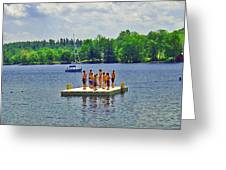 New England Watersports Greeting Card