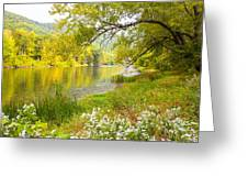 New Englands Early Autumn Greeting Card