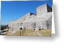 New Fort Corfu 1 Greeting Card