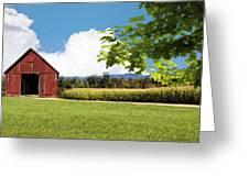 New Hampshire Barnyard Greeting Card
