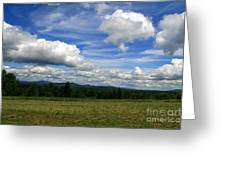 New Hampshire Blue Sky  Greeting Card