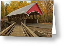 New Hampshire Covered Bridge Greeting Card