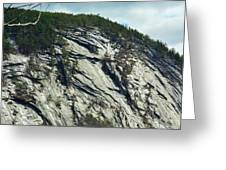 New Hampshire Ledge Greeting Card