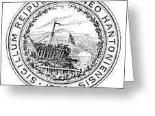 New Hampshire State Seal Greeting Card