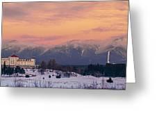 New Hampshires Washingtons Greeting Card