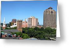New Haven  Connecticut Greeting Card