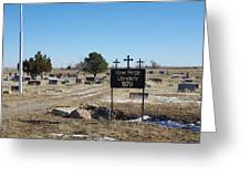 New Hope Cemetery Greeting Card