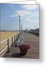 New Jersey Boardwalk Greeting Card