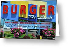 New Jersey Diner Greeting Card