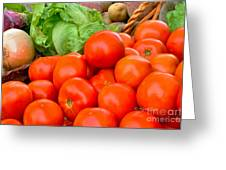 New Jersey Farm Market Goodness Greeting Card
