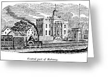 New Jersey Rahway, 1844 Greeting Card