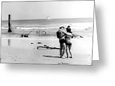 New Jersey Shore  1964 Greeting Card by   Joe Beasley