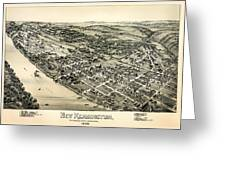 New Kensington Pennsylvania 1896 Greeting Card